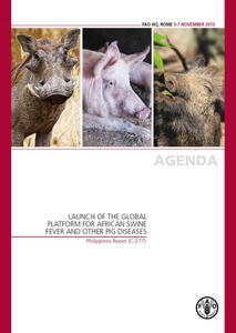 Report - The Global Platform for African swine fever and other important diseases of swine